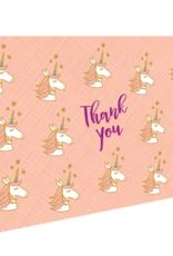 Thank You Unicorns Greeting Card