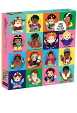 Chronicle Books Little Feminist 500 Piece Puzzle