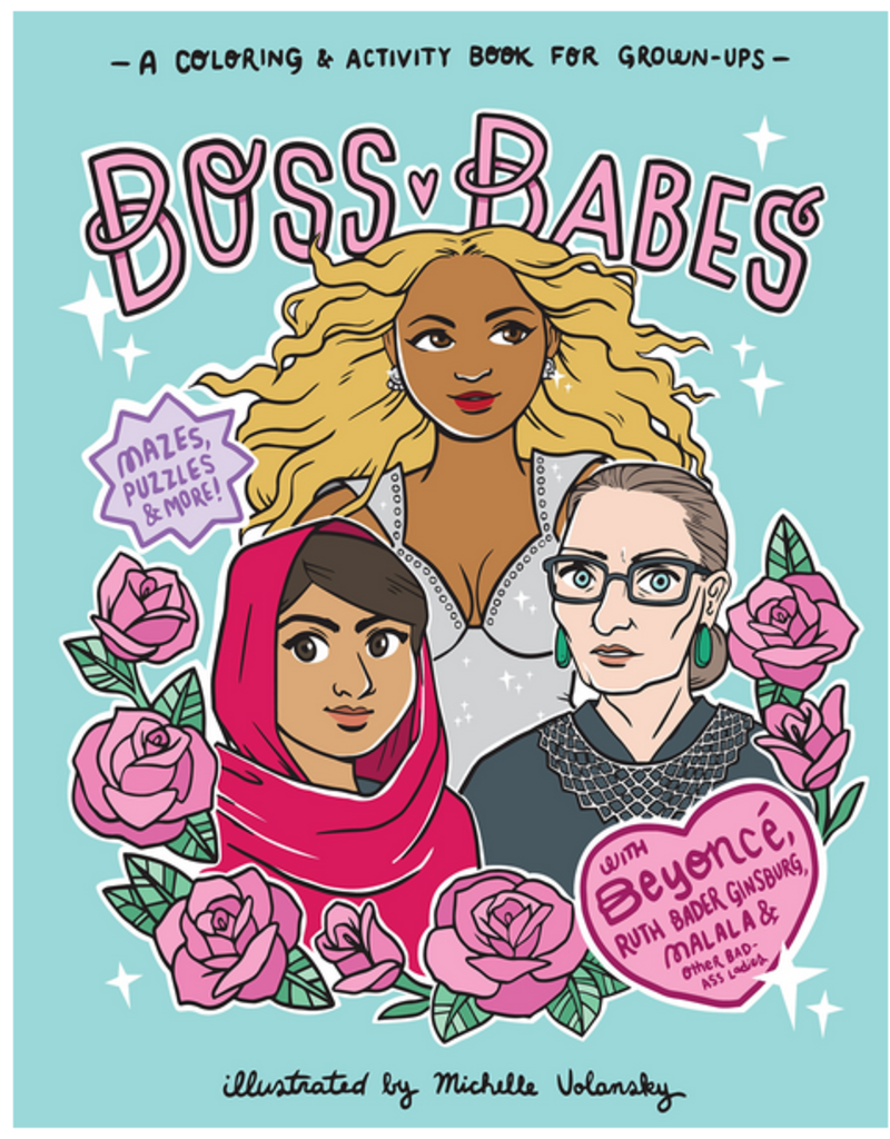 Workman Publishing Group Boss Babes Coloring Book