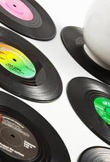 Gift Republic Retro Vinyl Coasters