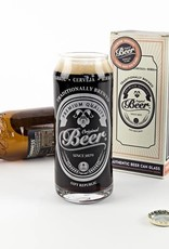Gift Republic Beer Can Glass