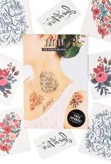 Floral Tattoo Set