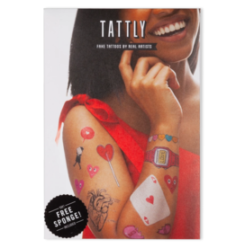 Tattly Sweetheart Tattoo Set
