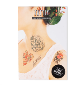 Tattly Floral Tattoo Set