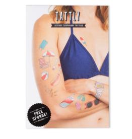 Tattly Boardwalk Tattoo Set