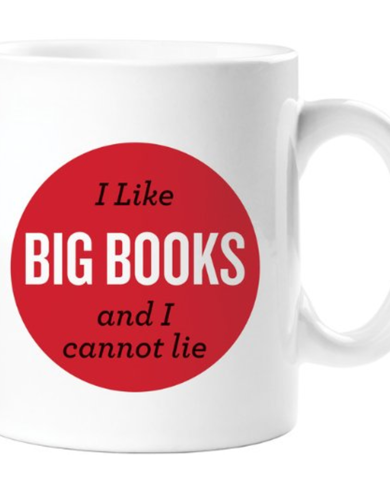 Gibbs Smith I Like Big Books Mug