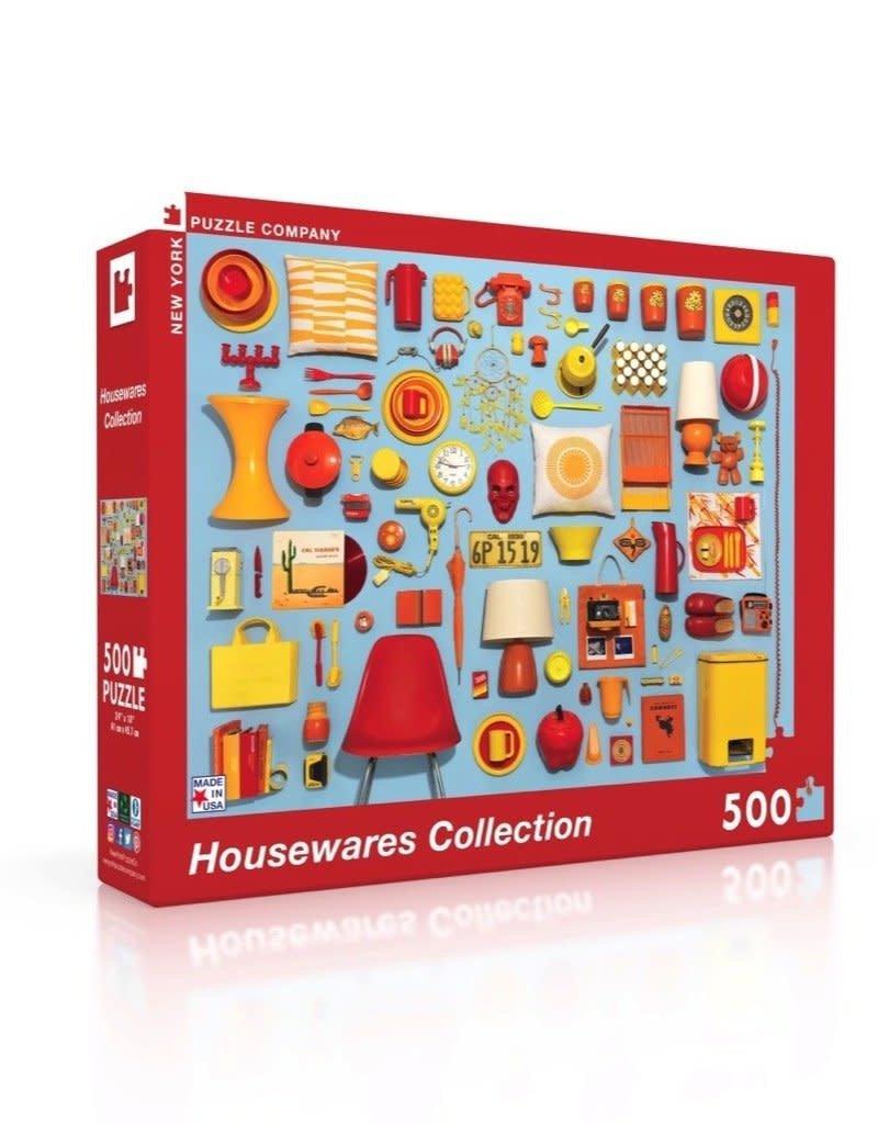 New York Puzzle Company Housewares 500 Piece Puzzle