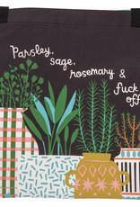 Blue Q Parsley, Sage, Fuck Off Apron