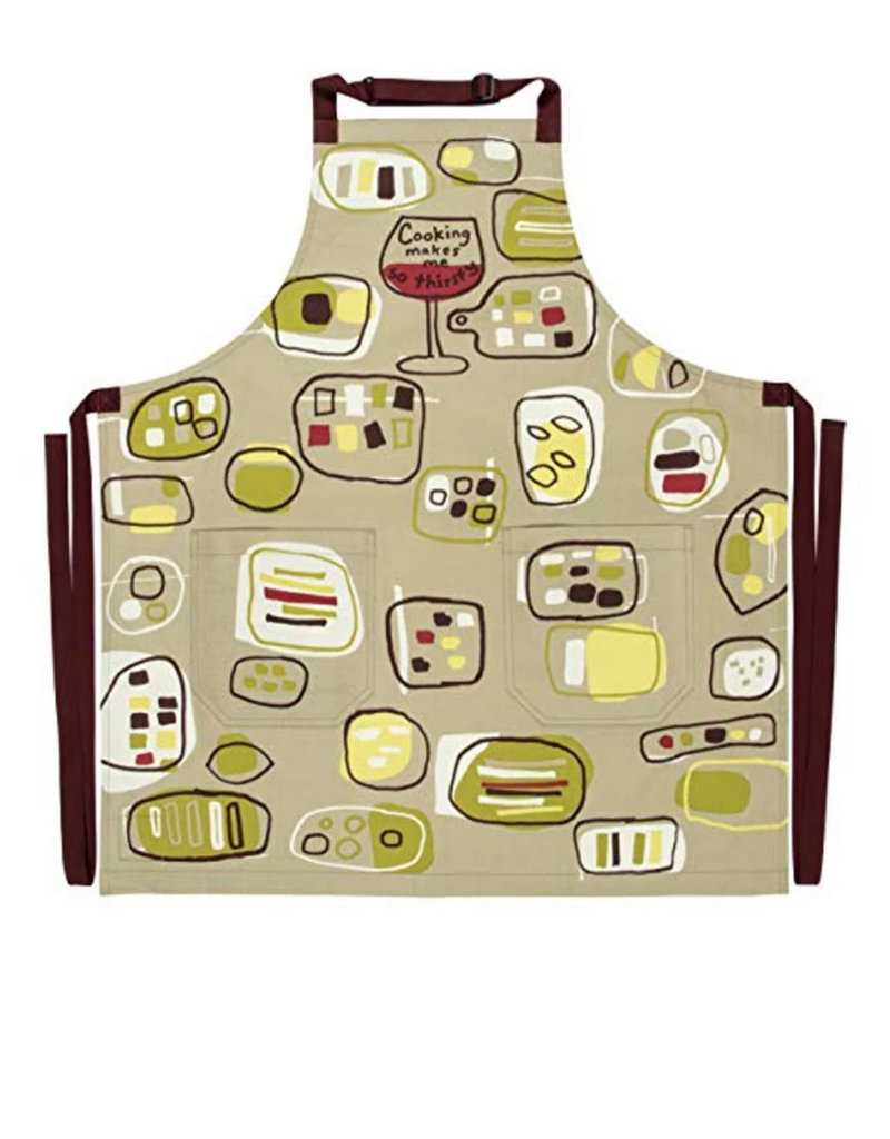 Blue Q Cooking Makes Me So Thirsty Apron