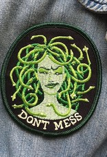 Don't Mess Medusa Patch