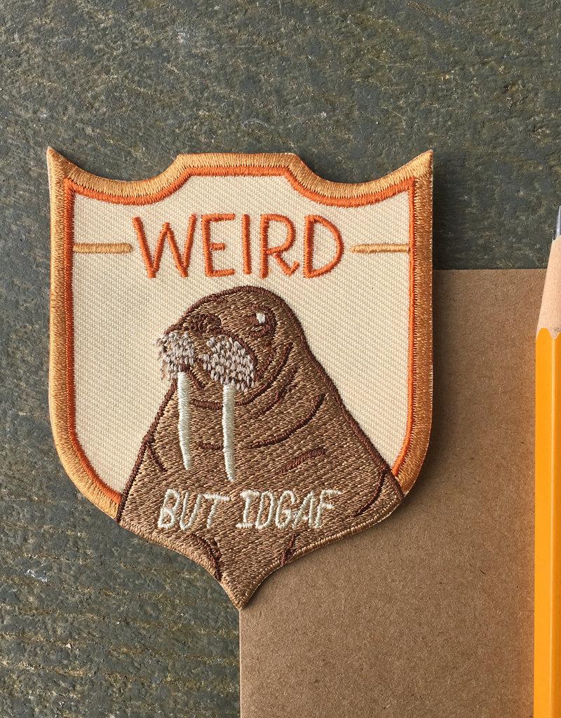 "Frog & Toad Press Walrus ""Weird But IDGAF"" Patch"