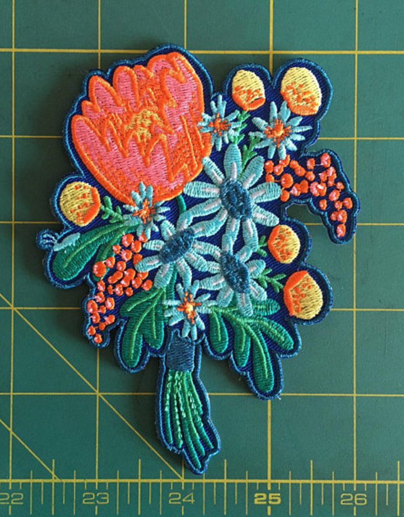 Frog & Toad Press Bouquet Patch