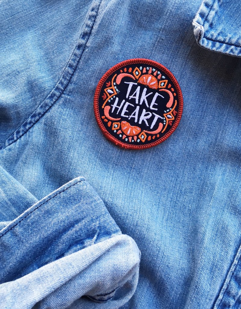 Frog & Toad Press Take Heart Patch