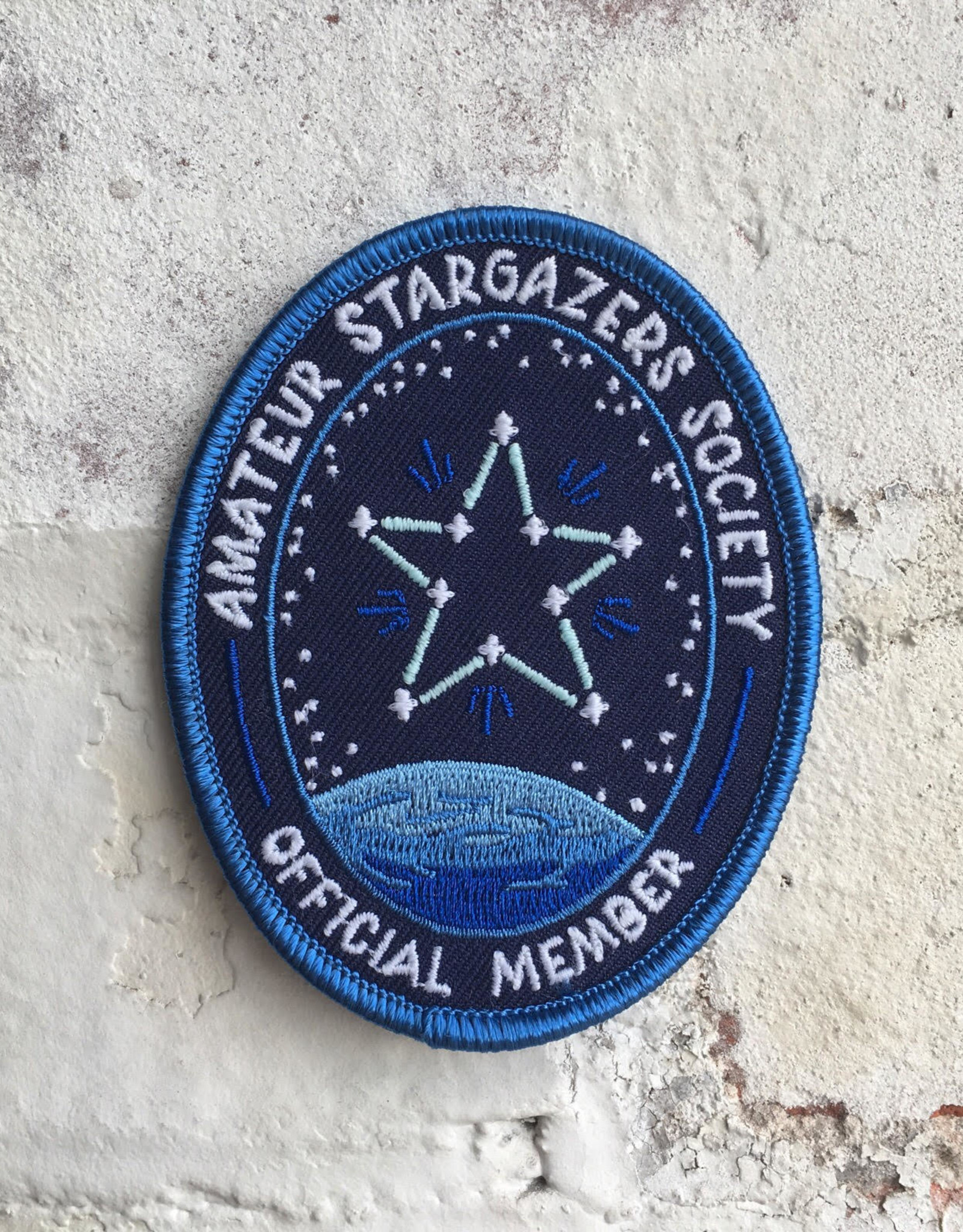 Frog & Toad Press Amateur Stargazers Society Patch