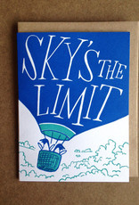 Sky's The Limit Greeting Card