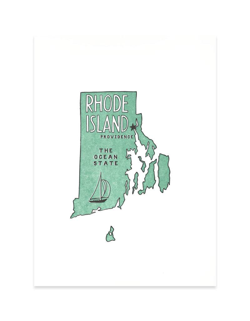 Power & Light RI: Ocean State Print (Large)