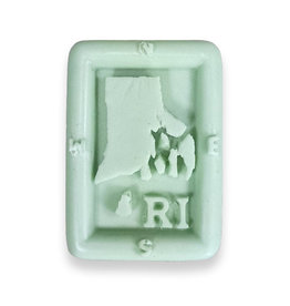 RI State with Compass Soap Bar