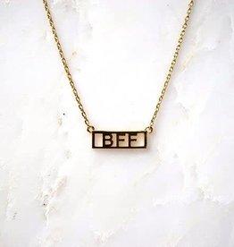 He Said, She Said BFF Necklace