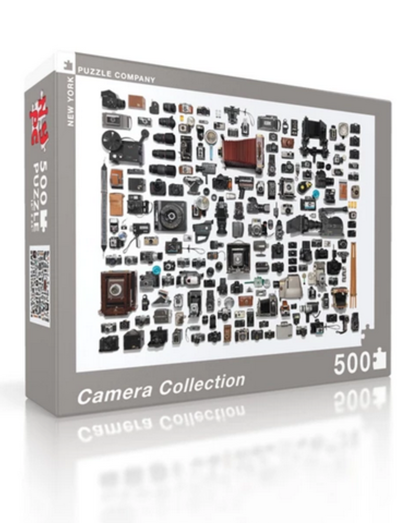New York Puzzle Company Camera Collection - 500 Piece Puzzle