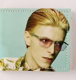 FluffyCo Bifold Leather Wallet - David Bowie