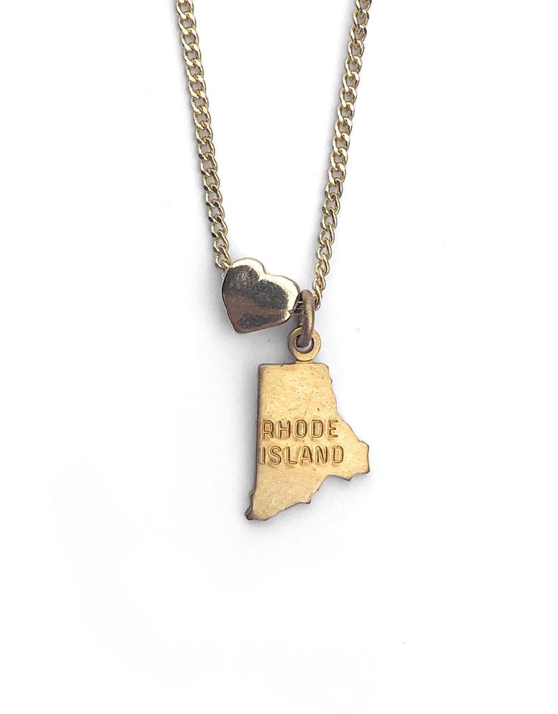 Encore Fashion Group Rhode Island Heart Charm Necklace