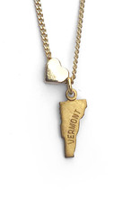 Vermont Heart Charm Necklace