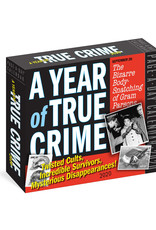Workman Publishing Group True Crime Pad Calendar 2020