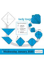 Workman Publishing Group Origami Pad Calendar 2020