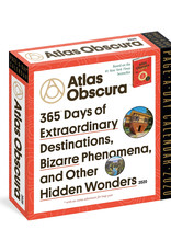 Workman Publishing Group Atlas Obscura Pad Calendar 2020