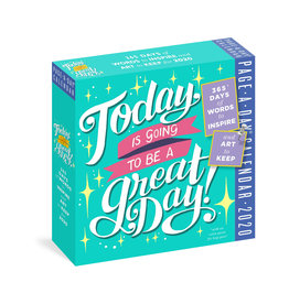 Workman Publishing Group Going to be a Great Day Pad Calendar 2020