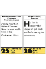 Workman Publishing Group Stupidest Things Ever Said Pad Calendar 2020