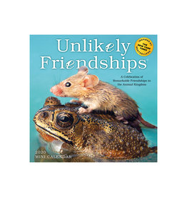 Workman Publishing Group Unlikely Friendships Mini Wall Calendar 2020