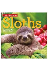 Workman Publishing Group Sloths Mini Wall Calendar 2020