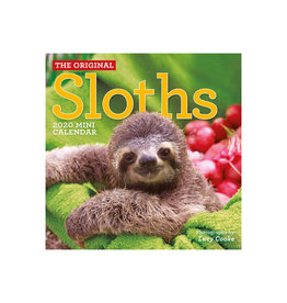 Workman Publishing Group Sloths Mini Wall Calendar 2020