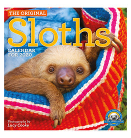 Workman Publishing Group Sloths Wall Calendar 2020