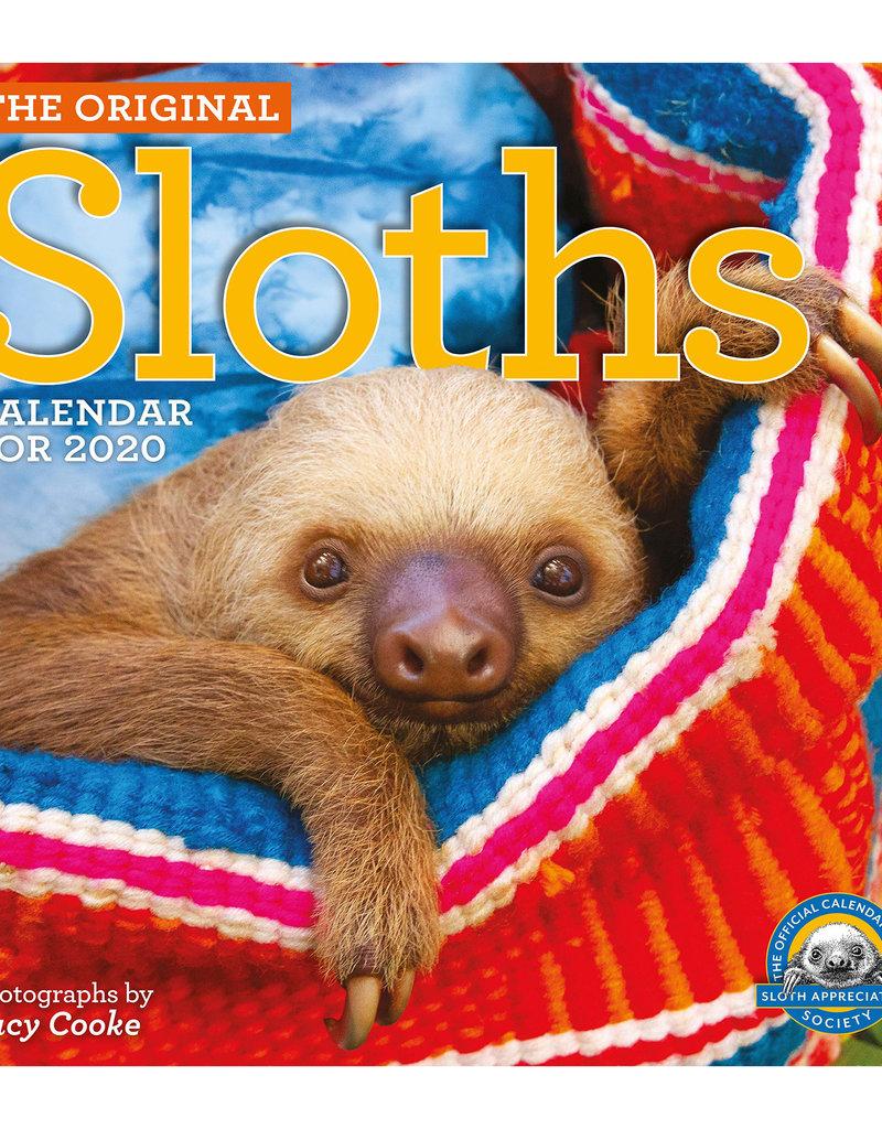 Workman Publishing Group Sloths Wall Calendar 2020