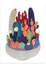 Cactus Club Paper Crystal Cactus Print