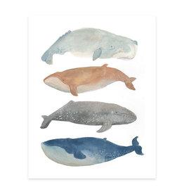Whale Gang Print