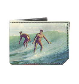 Spectrum Leather Wallet - Surf