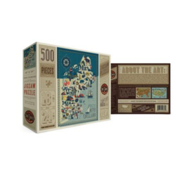 True South Puzzle Co. New England States 500 Piece Puzzle