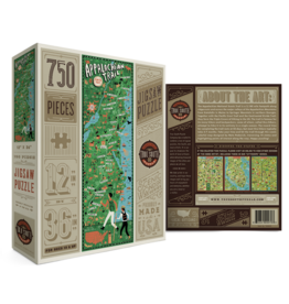 True South Puzzle Co. Appalachian Trail 750 Piece Puzzle
