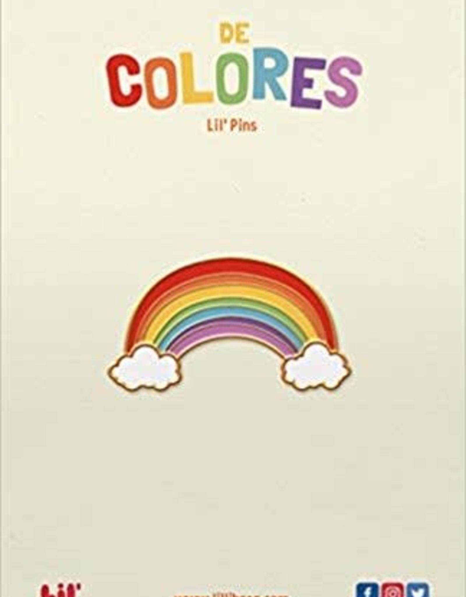 De Colores Rainbow Enamel Pin