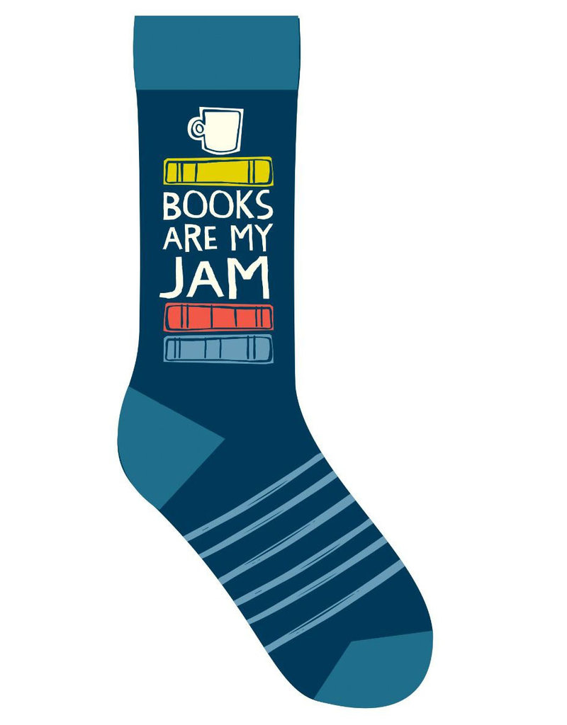 Gibbs Smith Books Are My Jam Socks