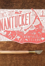 Noteworthy Paper & Press Nantucket Die Cut Postcard