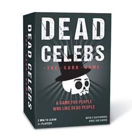 Gift Republic Guess the Dead Celeb Card Game
