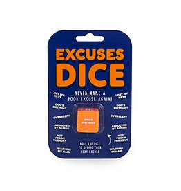Gift Republic Excuses Dice