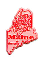 Sojourn Souvenirs Maine Capital Magnet