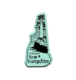 Sojourn Souvenirs New Hampshire Capital Magnet