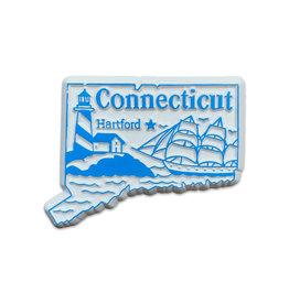 Sojourn Souvenirs Connecticut Capital Magnet