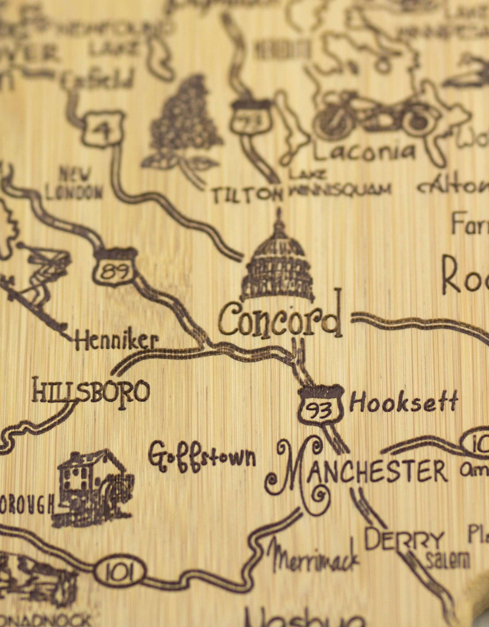 New Hampshire Cutting Board